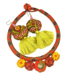 African inspired jewellery