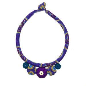 Shweshwe necklace