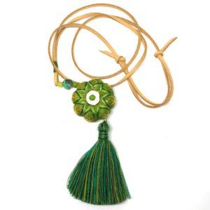 textile pendant