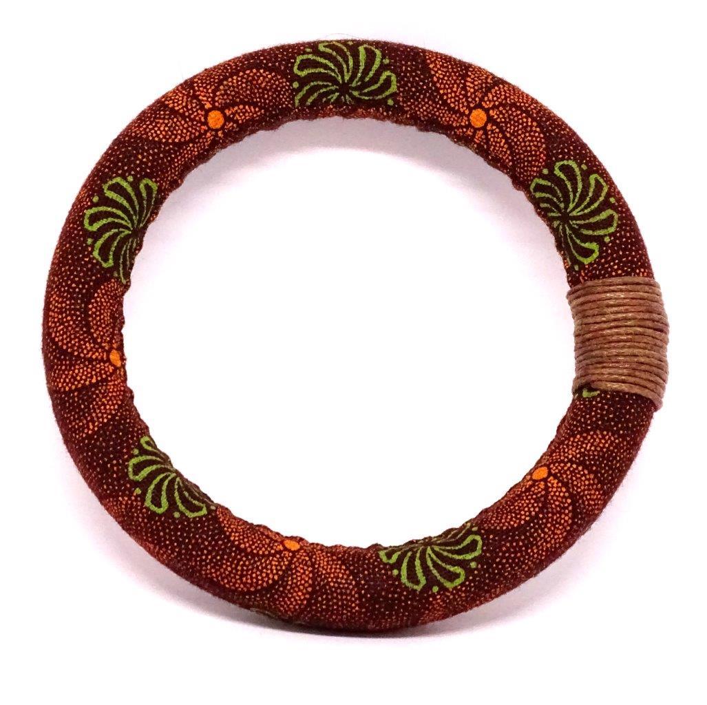 Brown Shweshwe Bracelet