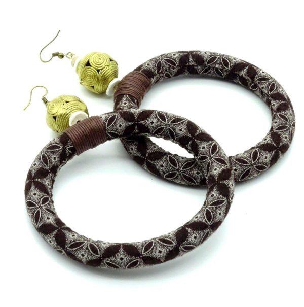 shweshwe earrings