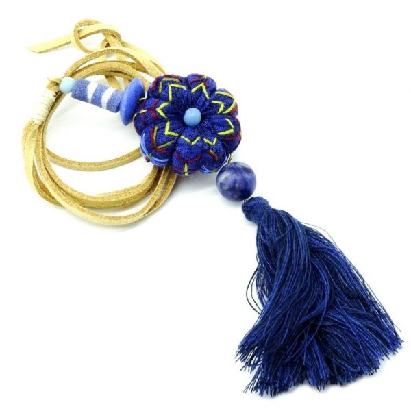 handcrafted textile jewellery